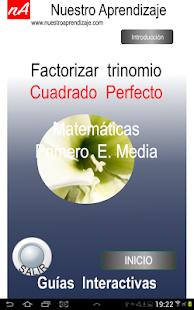 Trinomio Cuadrado Perfecto - Aplicaciones en Google Play