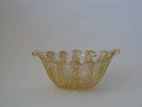 Photo: Barovier &Toso Cordonato Oro  Bowl