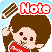 Sticky Note Monchhichi