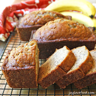 Spiced Banana Bread Mini Loaves.