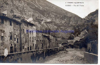 Photo: Gubbio, Via del Fiume