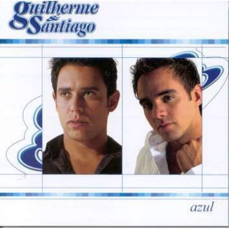 """Capa do álbum """"Azul""""."""