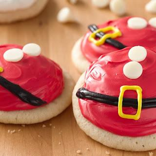 Santa's Belly Cookies.