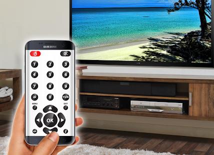 Dálkové ovládání televizoru - náhled