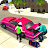 New York Taxi Duty Driver: Pink Taxi Games 2018 Icône