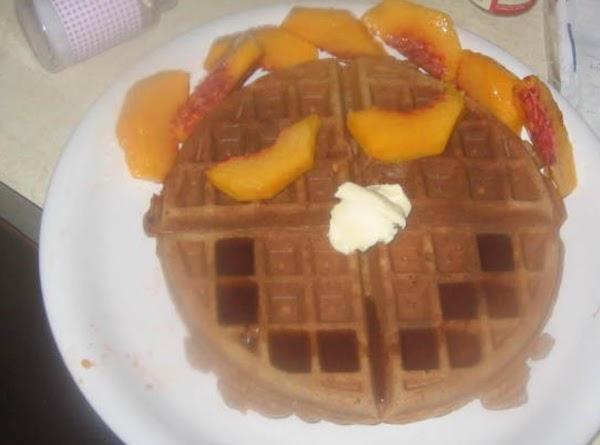 Belgian Pumpkin Waffles Recipe