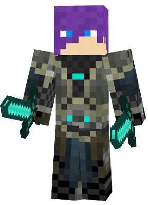 The arcanist from the original minecraft song Cold as Ice by Rainmator.