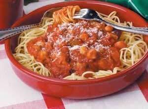 Vegetarian Spaghetti Recipe