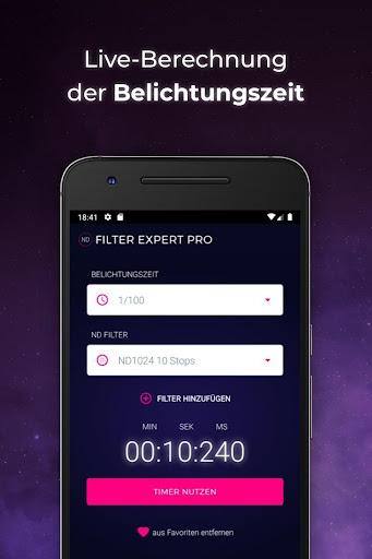 ND Filter Expert Pro screenshot 1