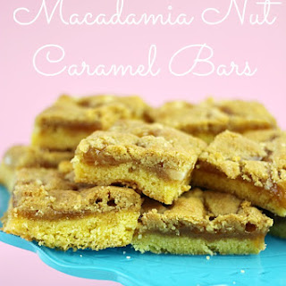 Macadamia Nut and Caramel Bars