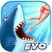 飢餓鯊魚:進化