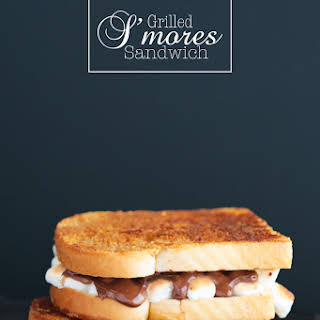 Grilled S'mores Sandwich.