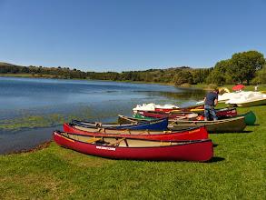 Photo: Le canoe cominciano ad aumentare