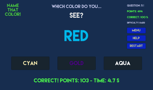 【免費益智App】Name That Color!-APP點子