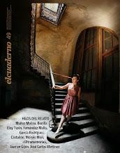 """Photo: Poemas de """"SFO"""" en """"El Cuaderno"""", Nº 49 - octubre 2013, Trea."""