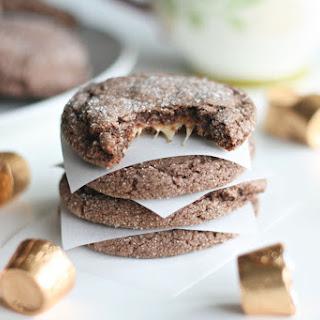 Five Ingredient Rolo Cookies.