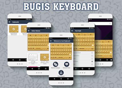 Bugis keyboard - náhled