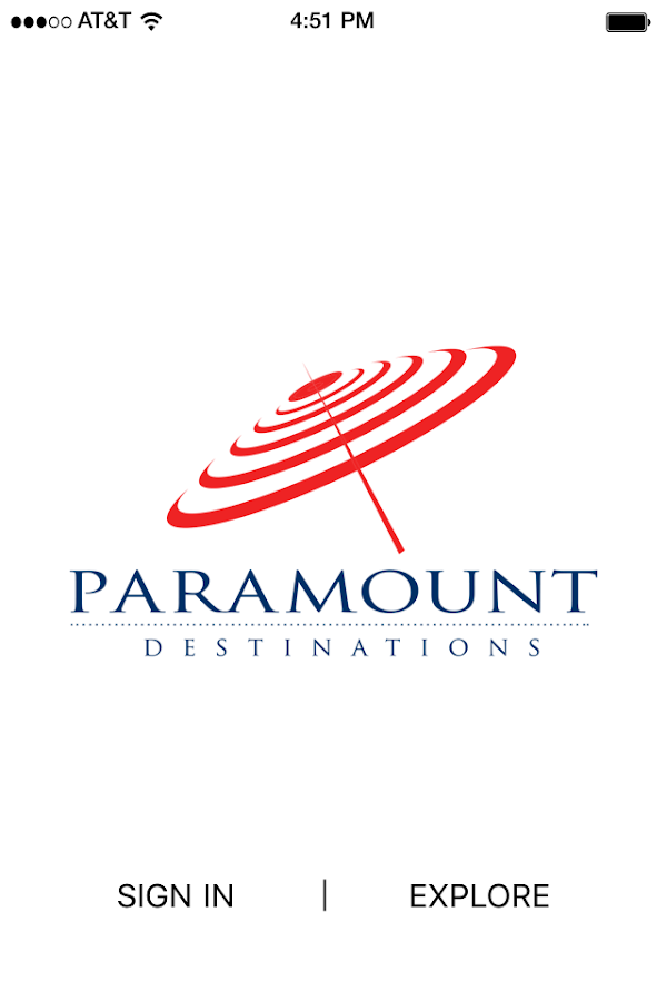 Paramount Destinations- screenshot