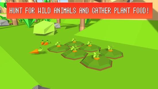 Pixel Island Survival 3D imagem 2