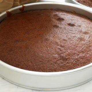 Basic Eggless Chocolate Cake.