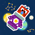 Rushy Rockets: Puzzle Blast in Space icon