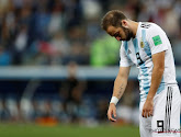 Gonzalo Higuain stopt op 31-jarige leeftijd bij Argentijnse nationale ploeg