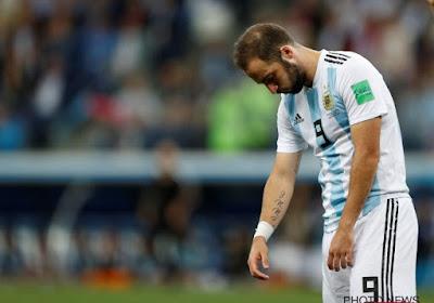 Gonzalo Higuain annonce sa retraite internationale