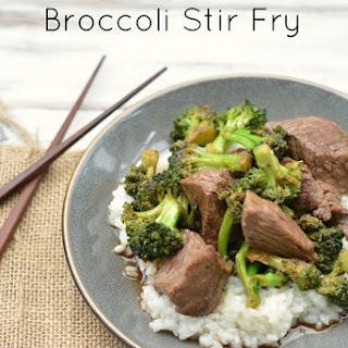 Stir Fry Beef and Broccoli.