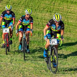cyclocross by Bert Templeton - Sports & Fitness Cycling ( cyclist, racing, cyclocross, cycling, biking, texas, bike )