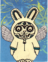Photo: Mail Art 366 - Day 112, card 112a happy easter if you are into that sort of thing