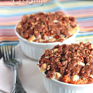Coconut-Bourbon Sweet Potato Casserole