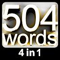 504 لغت ضروری | آموزش زبان انگلیسی | دیکشنری icon