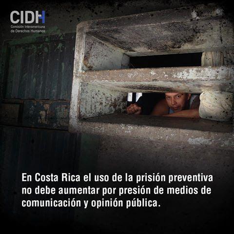CIDH APOYA MEDIDAS IMPLEMENTADAS POR JUSTICIA PARA REDUCIR EL HACINAMIENTO