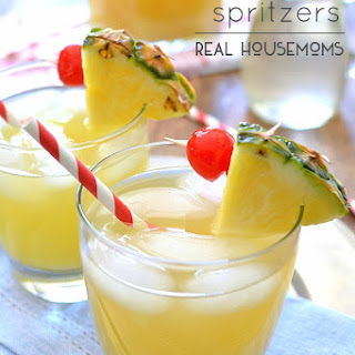 Pineapple Spritzers.