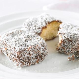 Gluten-Free Lamingtons