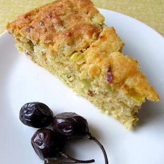 Savory Leek Cake