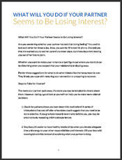 what to do when husband loses interest in you