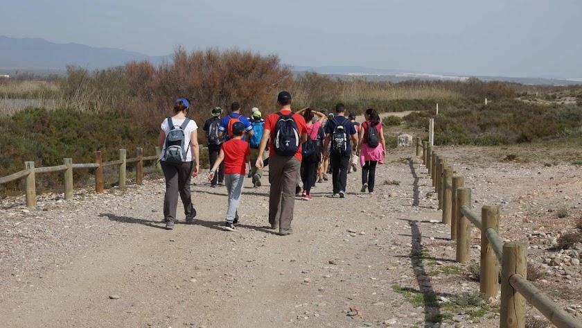 Rutas para todas las edades organizadas por la Asociación de Amigos del Parque Natural Cabo de Gata-Níjar