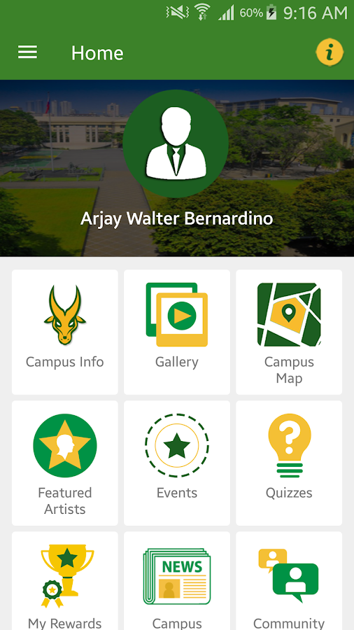 FEU Cultural App- screenshot