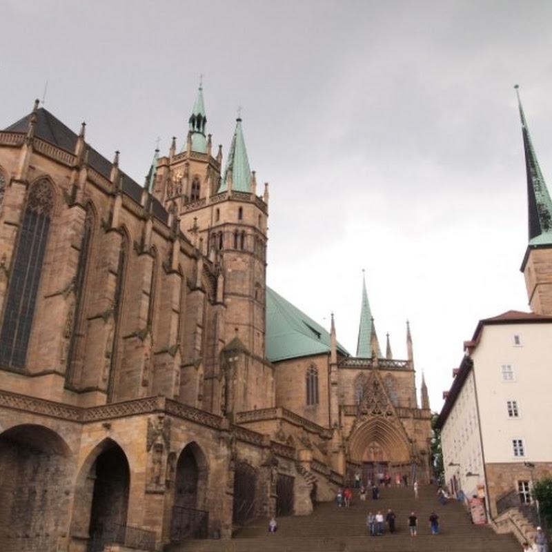 【世界の街角】ドイツ中部の街エアフルトで壮観な姿のエアフルト大聖堂を訪ねる