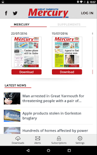 Great Yarmouth Mercury- screenshot thumbnail
