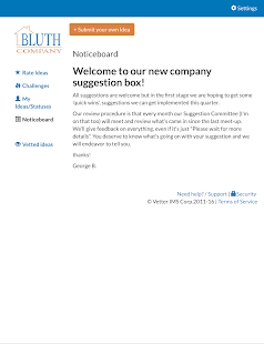 Vetter Employee Suggestion Box- screenshot thumbnail