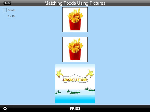 Matching Foods Using Pictures Lite Version 1.0 screenshots 4