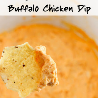 Slow Cooker Buffalo Chicken Dip.