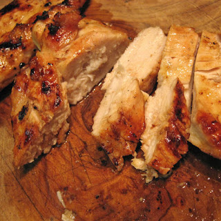 Simple Grilled Chicken Breasts.