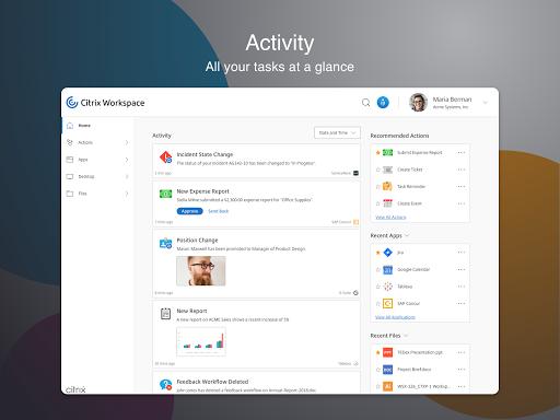 Citrix Workspace 20.9.0 Screenshots 9