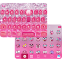 Glitter Bow iKeyboard Theme icon