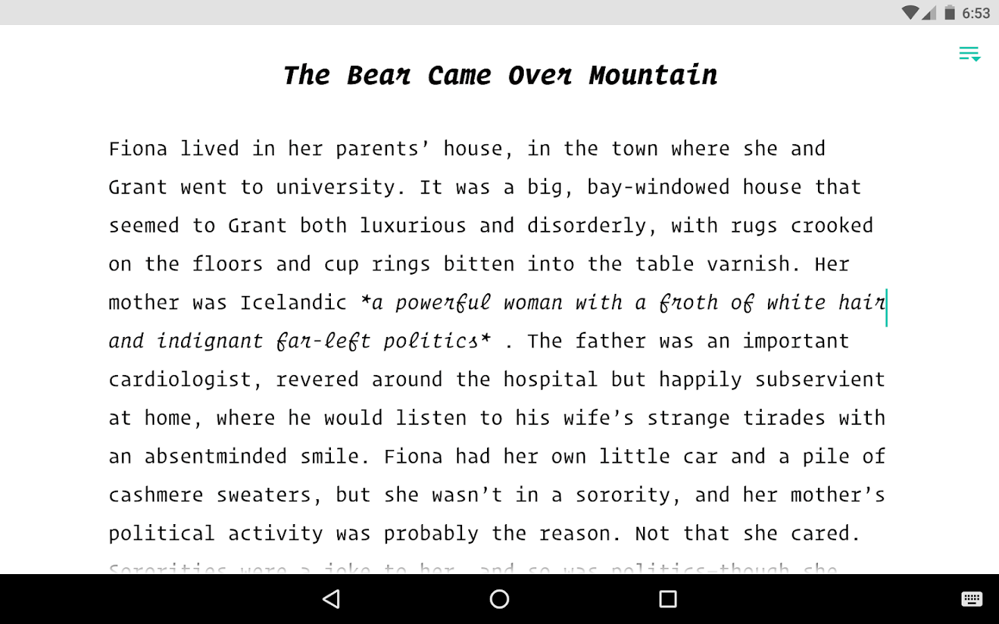 jotterpad writer android apps on google play jotterpad writer screenshot