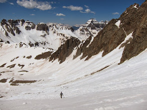 Photo: Easy steppin' all the way down with great views. Gotta love the San Juans.