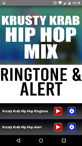 Krusty Krab Hip Hop Ringtone